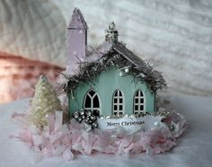 Other: Miniature Melissa Frances Church Ornament. I have ordered the chipboard church from Scrapbook.com and can't wait to glitz it up for a Christmas project.