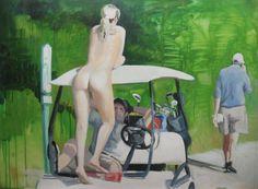 Golf by Gilles Miquelis, via Behance