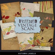 Freebies Kit de etiquetas de otoño