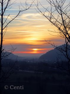 Centi bastelt: Sonnenuntergang