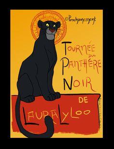 La Tournée du Chat Noir: Panthere Noir by Moolallingtons