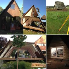 Tiny Housing in Belgium, creative living smallscale ecological tiny house design interior design environmental architecture how to before after