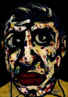 "Saatchi Art Artist CARMEN LUNA; Painting, ""66-Faces. Picaso II"" #art"
