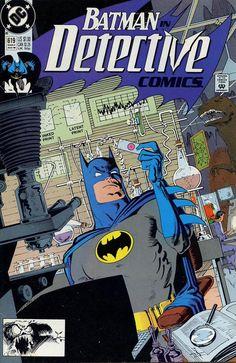 VINTE E CINCO anos atrás, o #Batman de #NormBreyfogle detetivou fortemente nessa capa da #DetectiveComics n. 619. A história [Rites of Passage, part two: Beyond Belief!], de #AlanGrant, saiu aqui em Batman n. 20 [aquela série em formato americano], de setembro de 1991, por obsoletos Cr$ 600,00.