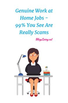 Genuine Work at Home Jobs - You See Are Really Scams. Offers to work online from home are growing fast. Genuine work at home jobs, however, are difficult to find. Make Money Online, How To Make Money, Work From Home Jobs, Online Work, Affiliate Marketing, Online Business, Blogging
