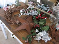 Rustic Xmas Decoration | Rustic Christmas Wreath