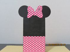 Minnie Mouse Favor/Gift Bags Mini Paper by ScrapbookSolutions