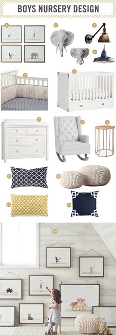 | baby boy nursery design inspiration |