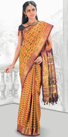 Sparkling Fashion: Kanchipuram silk sarees