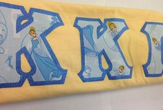 'If you keep on believing, the dream that you wish will come true' this Cinderella pattern is perfect for any  sorority sister. ❤️Like below to see it added…