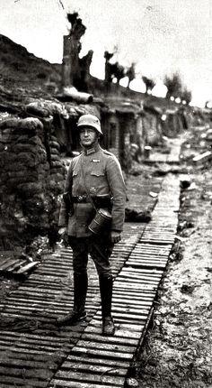 WWI, German soldier