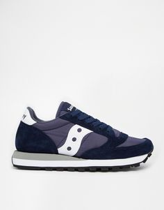 Image 2 of Saucony Jazz Original Navy/White Sneakers