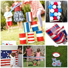 Get in the Spirit of the Holiday! Patriotic 4th of July Games! {FunCraftsKids}