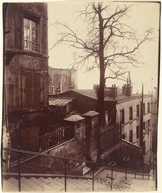 Shop for Paris, 1921 - Staircase, Montmartre by Eugene Atget Architecture Art Print. Get free delivery On EVERYTHING* Overstock - Your Online Art Gallery Store! Eugene Atget, Old Paris, Vintage Paris, Old Pictures, Old Photos, Vintage Photography, Art Photography, Grafik Art, Musee Carnavalet