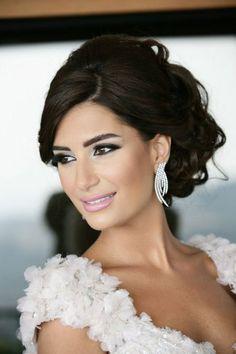 maquillage mariée libanais Plus