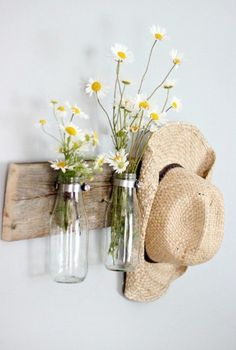 Milk Bottle Floral Holder | Magnolia Homes