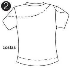 Instructions to transform a t-shirt How to transform clothes-t-shirts, if you have always had that concern to transform those clothes of … rnrnSource by Zerschnittene Shirts, Diy Cut Shirts, T Shirt Diy, Band Shirts, Shirt Makeover, Diy Clothes Refashion, Shirt Refashion, Refashioned Clothes, Diy Pullover