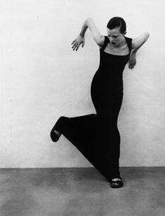 Karen Elson by Patrick Demarchelier, 1997