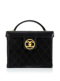 CHANEL Women's Black Quilted Beauty Case at MYHABIT