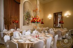 Banquet hall at Il Villaggio in Carlstadt, NJ