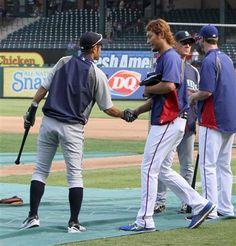 Ichiro and Darvish  April 9th Texas