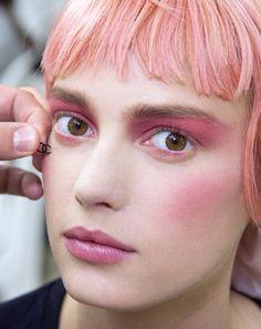 Pink - Chanel makeup backstage