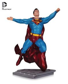"DC COLLECTIBLES - THE MAN OF STEEL - SUPERMAN BY GARY FRANK STATUE * Designed By Gary Frank. * Sculpted By Tony Cipriano & Josh Sutton. * Recreates The Man of Steel from the DCU. * Limited edition of 5,200. * Measures approximately 7.75"" tall.  Order It Now! http://amzn.to/2fWeiSa  #DCCollectibles #Collectibles #Superman #ClarkKent #Kryptonian #ManofSteel #SonofKrypton #Metropolis #DC #DCComics #DCUniverse #PreFlashpoint #DawnofJustice #GaryFrank #TonyCipriano #JoshSutton #ComicsDune"
