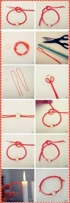 Very Easy Bracelet   DIY & Crafts Tutorials