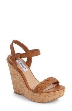 Steve Madden 'Emmey' Platform Wedge Sandal (Women) available at #Nordstrom