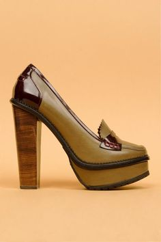 Opening Ceremony : latetita 1 stacked heel loafer