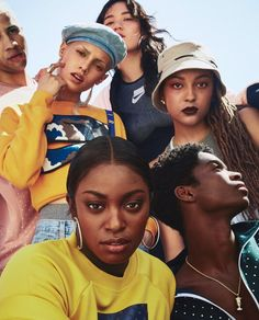 nike campaign Nike Sports Pack F/W 18 Campaign (Ni - Editorial Photography, Portrait Photography, Fashion Photography, Group Photography Poses, Prom Photography, Children Photography, Photo Trop Belle, Nike Campaign, Arte Van Gogh