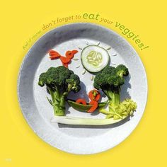 In new book 'Funny Food,' Bill and Claire Wurtzel turn healthy breakfasts into edible sculptures Veg Recipes, Healthy Recipes, Healthy Food, Food Humor, Funny Food, Food Sculpture, Vegan Cookbook, Slow Food, Kid Friendly Meals