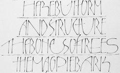 hereisnocolourtransdetail1 Pencil Calligraphy, Calligraphy Practice, Calligraphy Letters, Typography Letters, Caligraphy, Modern Calligraphy, Lettering Design, Hand Lettering, Alphabet