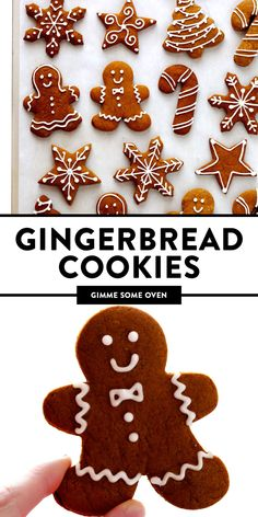 Most Pinned Desserts My favorite Gingerbread Cookies recipe! It's easy to make as soft or as crispy as you'd like, the cookies are easy to cut out and decorate, and they are perfect for the holidays! Soft Gingerbread Cookies, Holiday Cookies, Holiday Desserts, Holiday Baking, Holiday Treats, Decorating Gingerbread Cookies, Easy Gingerbread Cookie Recipe, Holiday Recipes, Gingerbread Frosting