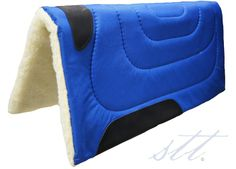 Blue Cordura Top Pad 30x32 -- The perfect accessory for your 4th of July horseback ride. | SouthTexasTack.com
