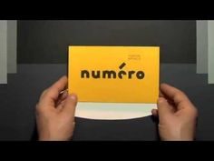 French paper engineer Marion Bataille has released a trilogy of pop-up books exploring the design of letters and numbers. Marion Bataille : Numéro (Albin Michel)