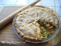 The Stay At Home Chef: Buffalo Chicken Pot Pie