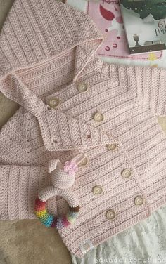 45 Free baby sweater crochet patterns - Page 34 of 45 - hotcrochet . Crochet Baby Sweater Pattern, Crochet Baby Blanket Beginner, Crochet Baby Sweaters, Baby Sweater Patterns, Crochet Baby Clothes, Baby Patterns, Baby Knitting, Crochet Designs, Crochet Baby Dresses