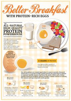 Have a better breakfast with protein-rich eggs