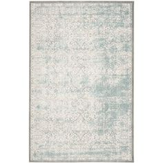 Found it at Joss & Main - Dionne Turquoise/Ivory Area Rug
