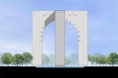 Archohm designs contemporary architectural landmark: Lucknow Memorial Gate