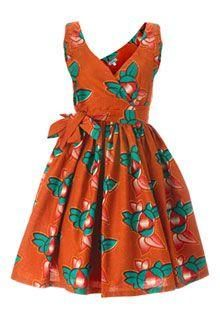 Female Dress for girls – African Fashion Dresses - African Styles for Ladies African Dresses For Kids, African Print Dresses, African Wear, African Attire, Girls Dresses, African Prints, African Shop, African Dashiki, African Outfits
