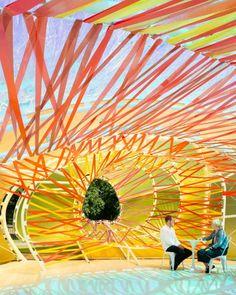 Pabellón 2015 de la Serpentine Gallery por SelgasCano. Fotografía © Jim Stephenson. Imagen cortesía de Serpentine Galleries.