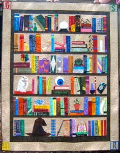 Sewhooked by Jennifer Ofenstein.  All the paper pieced Harry Potter designs were made by her and are available for free.