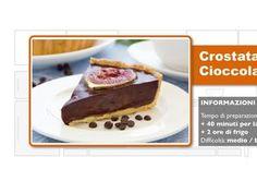 Ecco come preparare un dolce strepitoso in 5 semplici passi: la Crostata al Cioccolato.