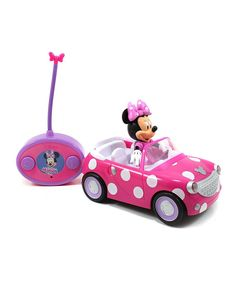 Look at this Minnie Mouse Remote Control Roadster Car on #zulily today!