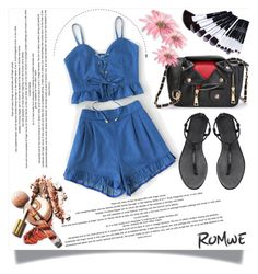 """""""Romwe 18"""" by melissa995 ❤ liked on Polyvore featuring WithChic"""