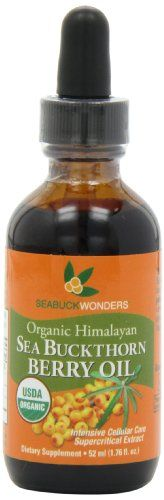 Sea Buckthorn Berry Oil  100 Certified Organic 176Ounces Bottle *** Visit the image link more details.
