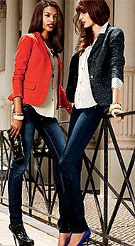 The City - Fall 2012 - Latest Trends - New York  Company- I so wish my legs were skinny enough for skinny jeans.