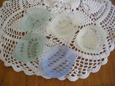 Vintage Pastel Glass Trinket Dishes or by GotMilkGlassAndMore, $5.95